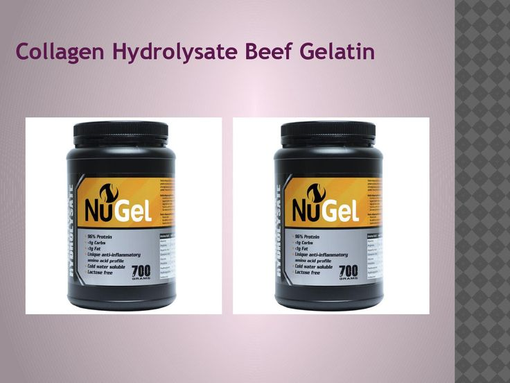 Gelatin Protein Powder in Brisbane  Collagen proteins from Beef Gelatin Collagen Protein are absorbed and processed by the body, unlike the proteins from collagen creams and similar cosmetic products.