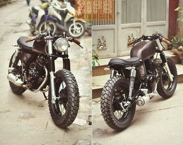 Suzuki GN250 #caferacer discover #motomood