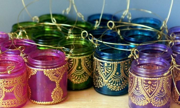 como hacer una lampara arabe 2