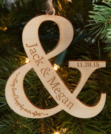 Look at this #zulilyfind! 'Happily Ever After' Personalized Ornament #zulilyfinds