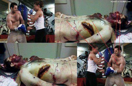 leaked photo of the Dead Boston Bomber Tamerlan Tsarnaev Read more at http://www.liveleak.com/view?i=c0e_1366394274#cQDJYApDSJcEjLi2.99   Click to view image: '6e5123fc9c3e-liveleak-dot-com-d8fb93e756c8-1366391802378.jpg'