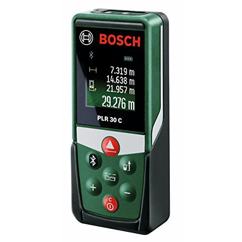 From 59.99 Bosch Plr 30 C Digital Laser Measure (measuring Up To 30m)