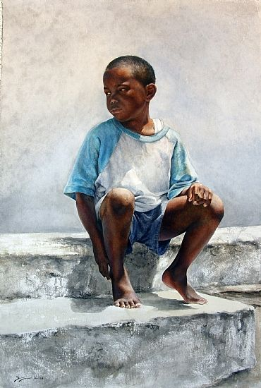 Artist Sheldon Saint is one to check out. His control over watercolour is absolutely phenomenal!
