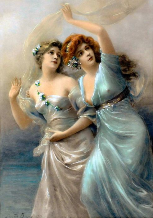 ~ by Edouard Bisson (1856-1939, French - studied under Jean Gerome)