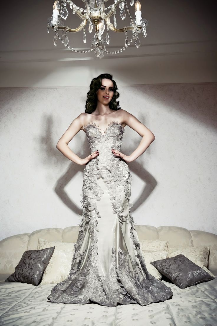 24 best WEDDING DRESSES BY LENA HOSCHEK ATELIER images on Pinterest ...