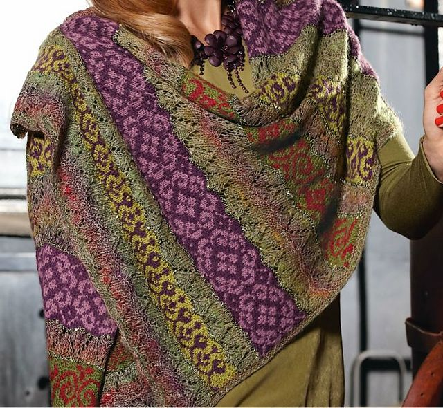 Ravelry: # 01 Palina pattern by Danièle Dietrich