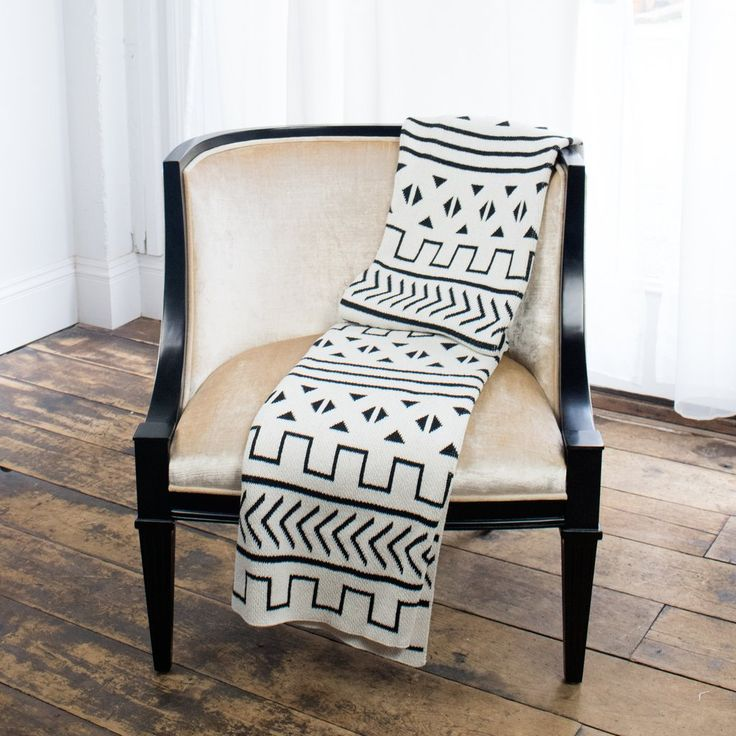 Mali Throw Blanket - Modern, Geometric Home Decor │ Savannah Hayes