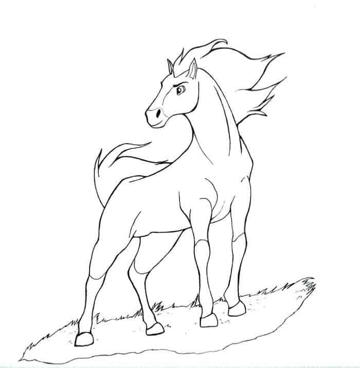 Horse Printable Coloring Pages Horse Coloring Pages Animal Coloring Pages Horse Coloring Books