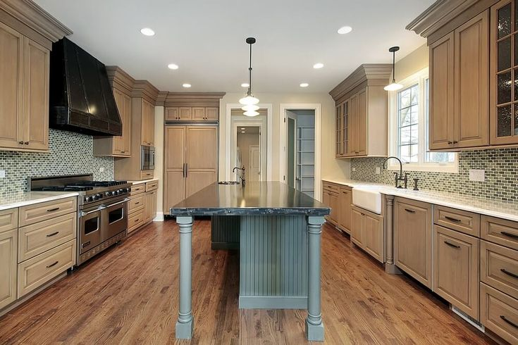 Light wood cabinets not too modern house kitchen for Kitchen cabinets not wood