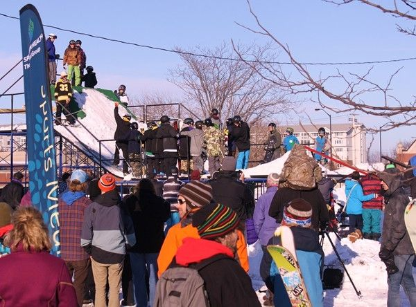 Check out this Saturday's, February 7 schedule for Downtown Rail Jam in Holland, MI!