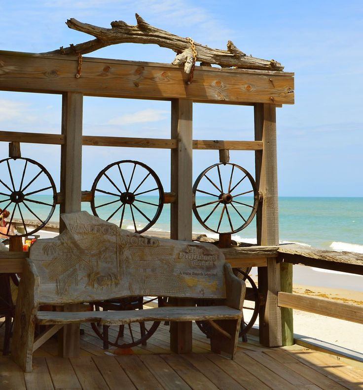 Built by an Irresponsible Screw-Ball in a Classy Beach Town: The Driftwood Resort, Vero Beach Florida - Beaches Bars and Bungalows
