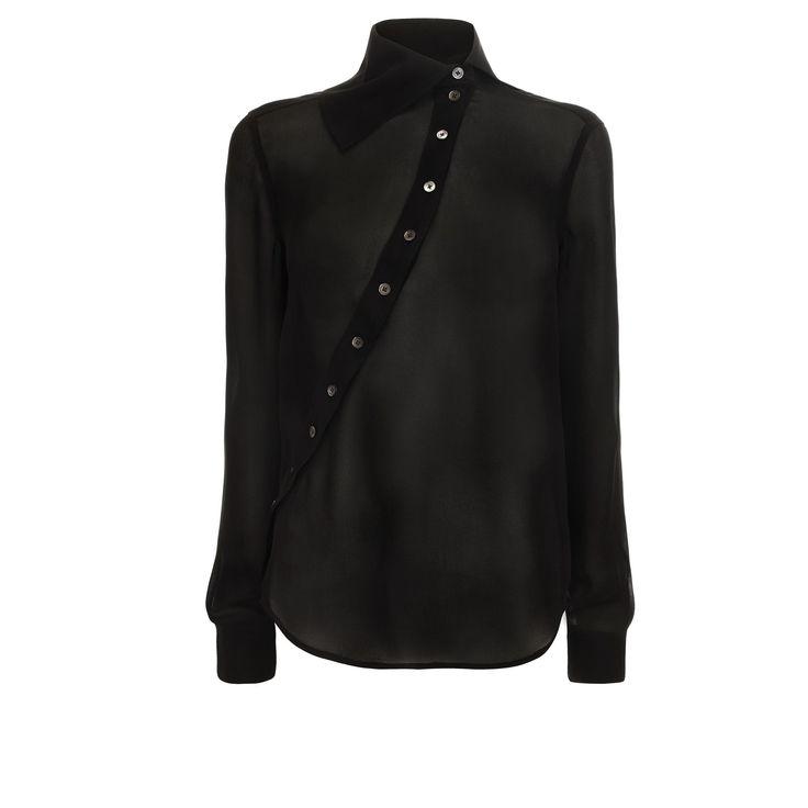 Historical Silk Shirt McQ   Shirt   Ready To Wear
