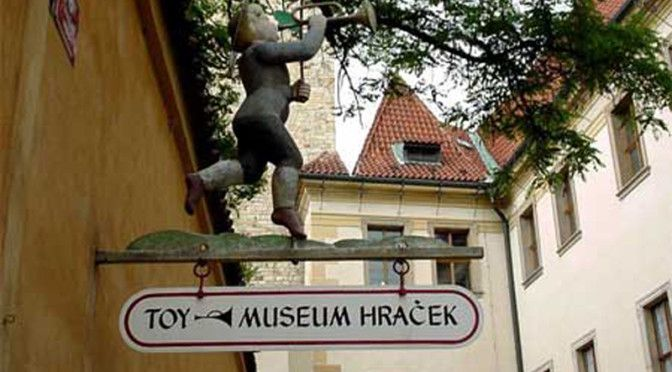 The Prague Toy Museum close to Golden Lane is this nice little place with lots of antique trains, teddy bears and dolls, complete with English-language signs on most of them. There are not many things children are allowed to touch, but there are plenty of mysterious mechanical objects, such as music boxes and steam-powered toys, for the kids to speculate about. There is a Barbie exhibit on the second floor, which is quite interesting.#prague#child#family#czech#fun#child-friendly#holiday#rain