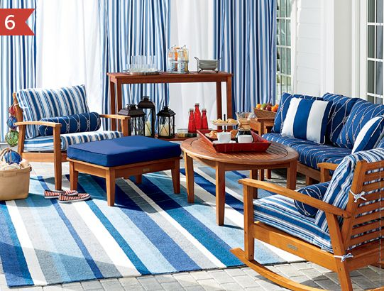 Nautical Outdoor Furniture Collections