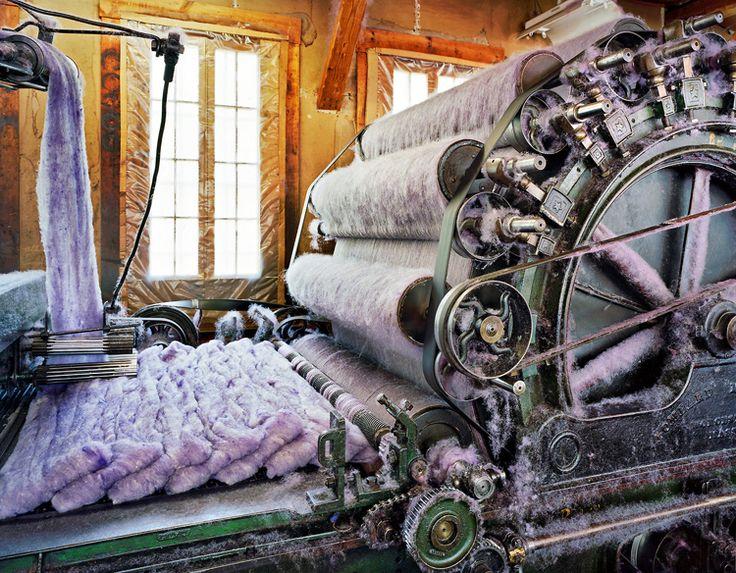 Christopher Payne: panorama de l'industrie textile américaine.