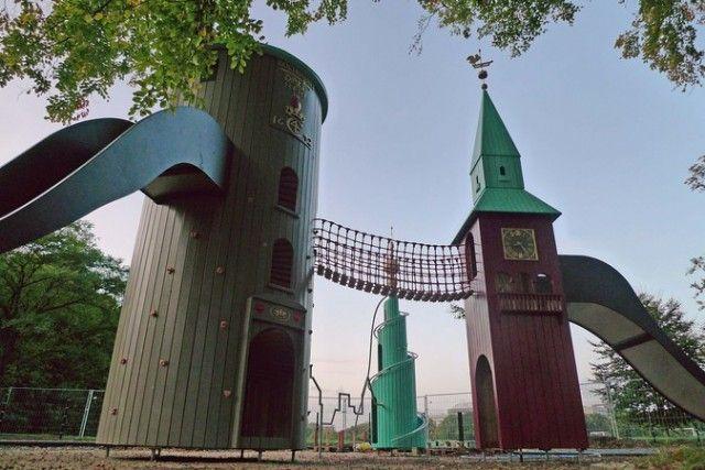 Parque de juegos en Göteborg.