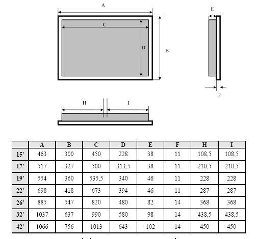 телевизор размеры - Поиск в Google