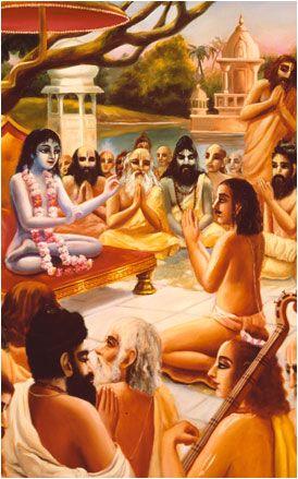 Sukadeva Gosvami & Maharaja Pariksit
