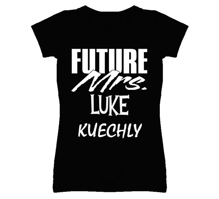 Luke Kuechly Carolina Football Love Future Mrs T Shirt is available on a Black 100% Cotton Tee. The Luke Kuechly Carolina Football Love Future Mrs T Shirt is available in all sizes. Please select your desired shirt style and size from the drop down above. <ul> <li>Item(s) custom made and shipped within 48 hours via USPS First Class Mail</li> <li>Each order will recieve an online status tracker for real-time updates</li>