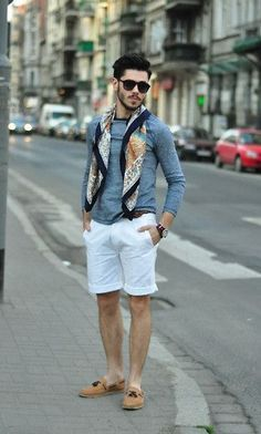 Mens scarf outfit fo