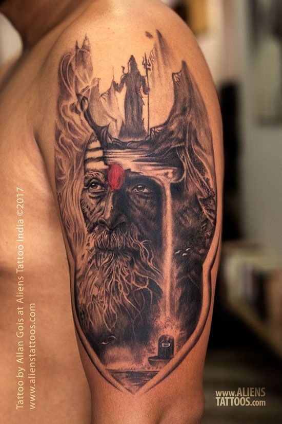 Aghori Shiva Tattoo