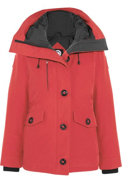 Canada Goose - Rideau Shell Down Parka - Red