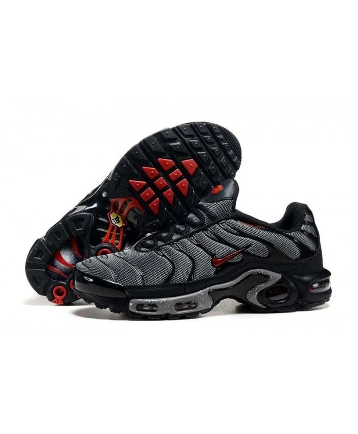 Homme Nike Air Max TN Noir Rouge T845 Chaussures | Nike