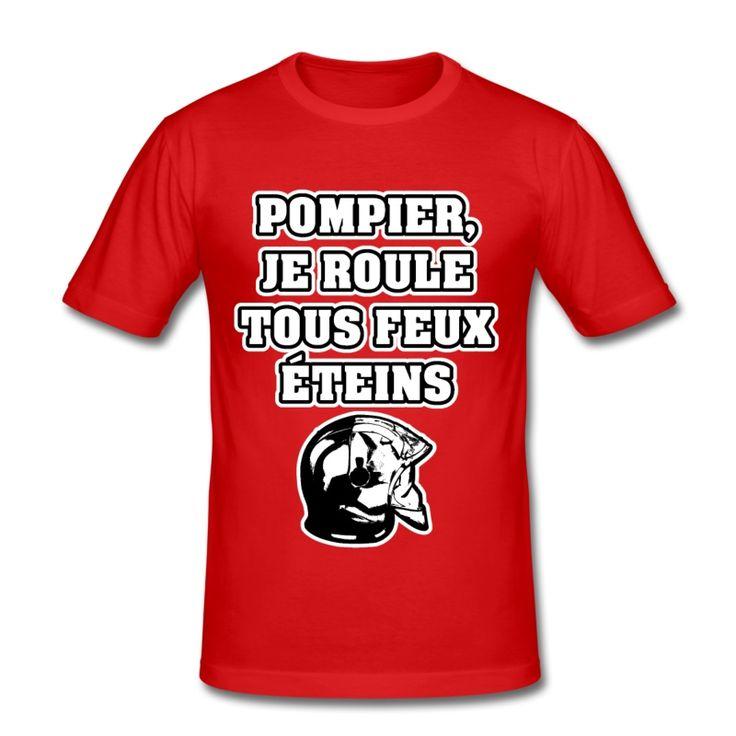 POMPIER, JE ROULE TOUS FEUX ÉTEINS , T-shirt à s'offrir ici : https://shop.spreadshirt.fr/jeux-de-mots-francois-ville/les+t-shirts+pour+pompiers?q=T516877  #pompiers #leshommesdufeu #tshirt #sirène #alarme #feu #flammes #incendie #foyer #échelle #lance #rampe #sapeur #casque #caserne #secours #ambulancier #brancardier #volontaire #bénévole #braise #bouche #JEUXDEMOTS #FRANCOISVILLE #HUMOUR #DRÔLE #CITATION