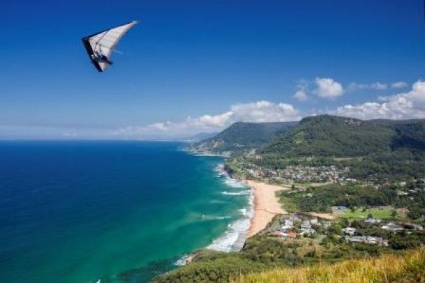 View from Bald Hill Lookout #wollongong #nsw #travel
