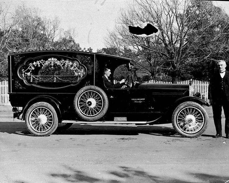 Vintage Funeral Hearse