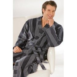 Licht gewicht heren badjas in kimono stijl