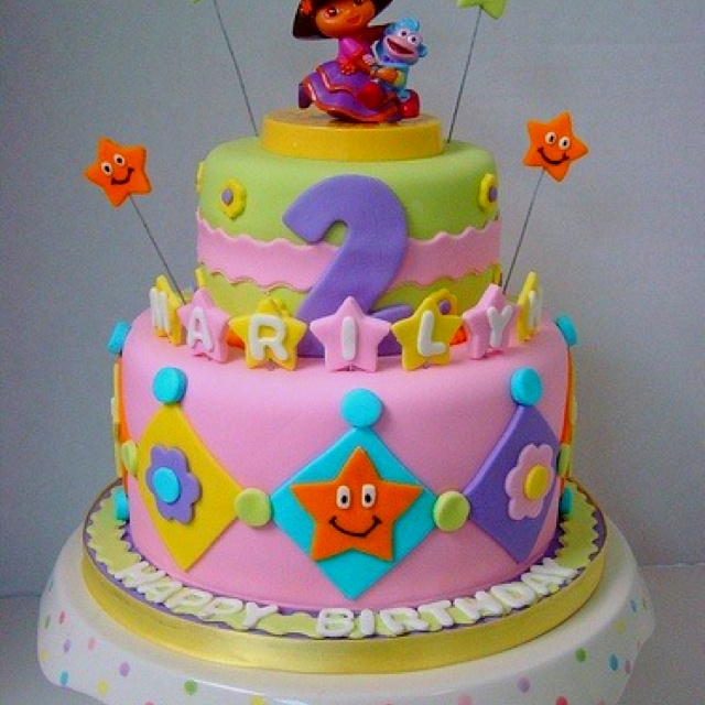 Cake Designs Dora : 17 Best images about Dora & Diego on Pinterest Cakes ...