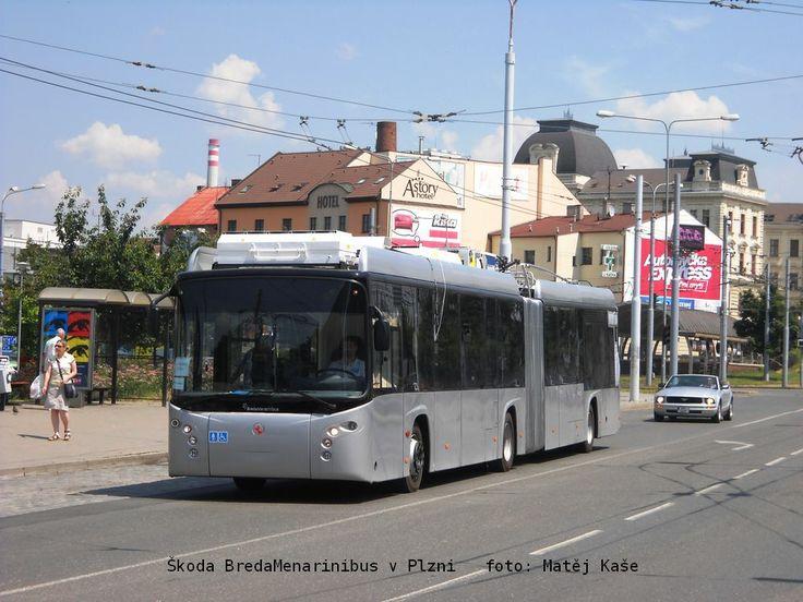 Škoda BredaMenarinibus v Plzni