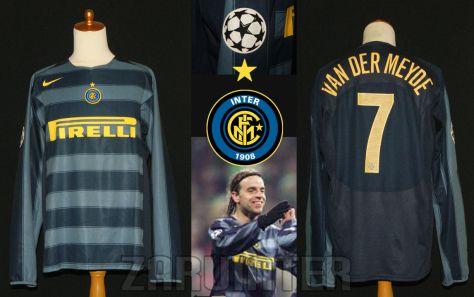 FC Inter | third jersey | 2004-05