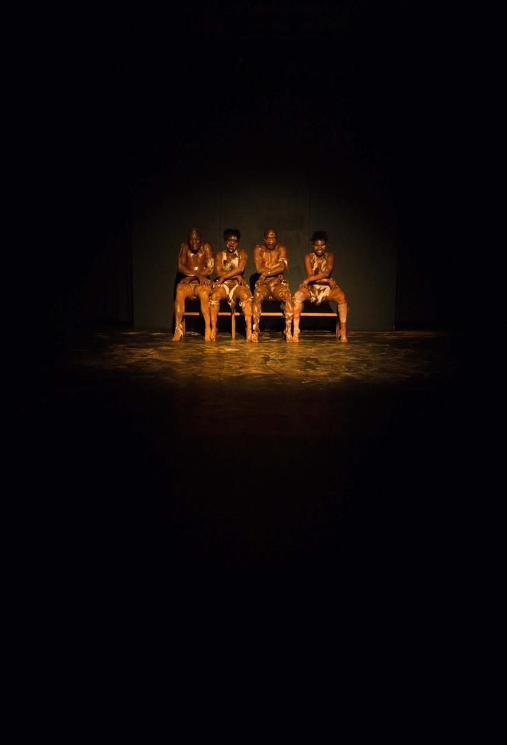 Freddy Zwane's 'Unnatural Presence', picture by Lisa Skinner