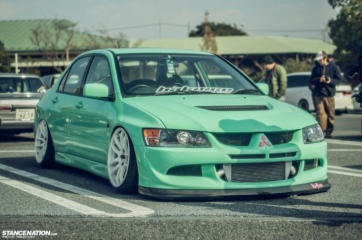 Dope Evo Mint Green For The Win Cars Pinterest
