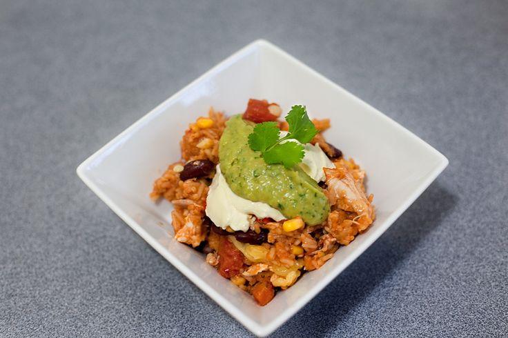 BurritoRice FoodbyDad