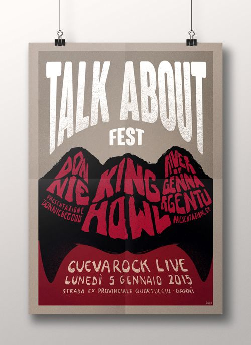 TALK ABOUT FEST on Behance