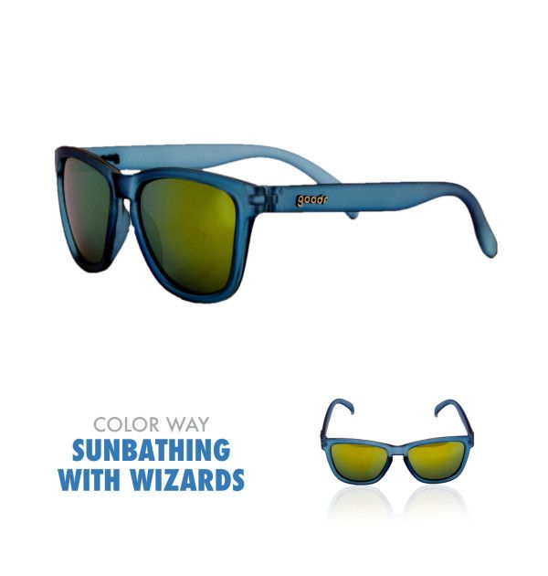 It's Time to Wear Blue Running Sunglasses