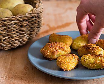 Patate pastellate al parmigiano