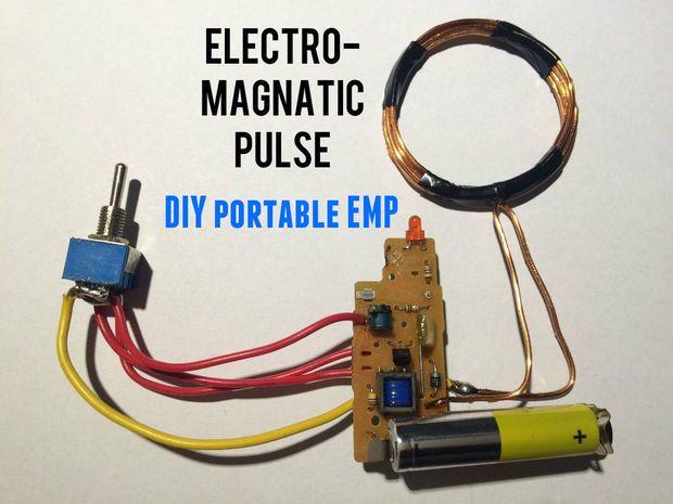 Picture of EMP generator