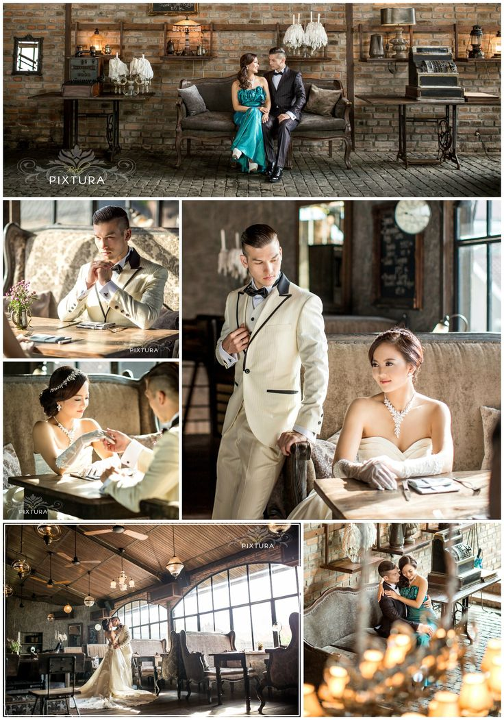 Bali PreWedding at Vintage Cafe  The Bistrot  Wedding