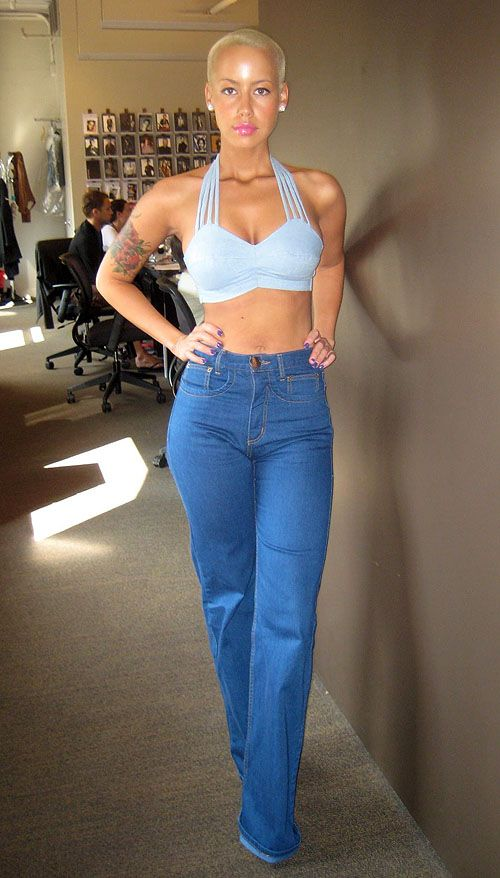 Amber Rose Model Test Shots THESE JEANS!!!!!!!!!!!!!!!!!