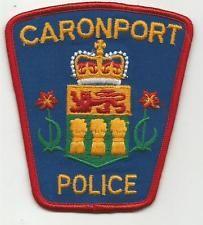 Caronport Saskatchewan CANADA Police patch
