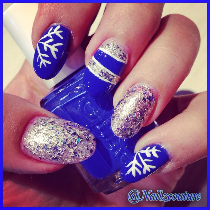 107 best Cute Winter Nail Art images on Pinterest   Christmas nails ...