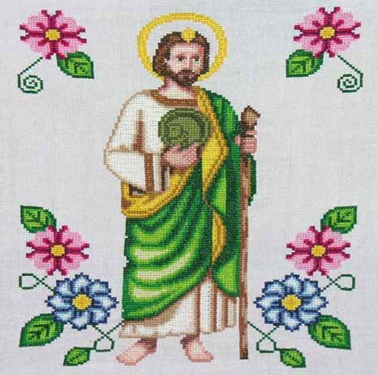 punto cruz religiosos   Aprender manualidades es facilisimo.