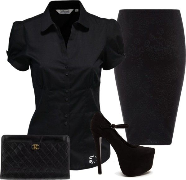 """Goth chic"" by deborahdarling51 on Polyvore"
