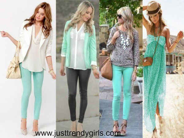mint styling Images Casual mint outfits styling ideas http://www.justtrendygirls.com/casual-mint-outfits-styling-ideas/