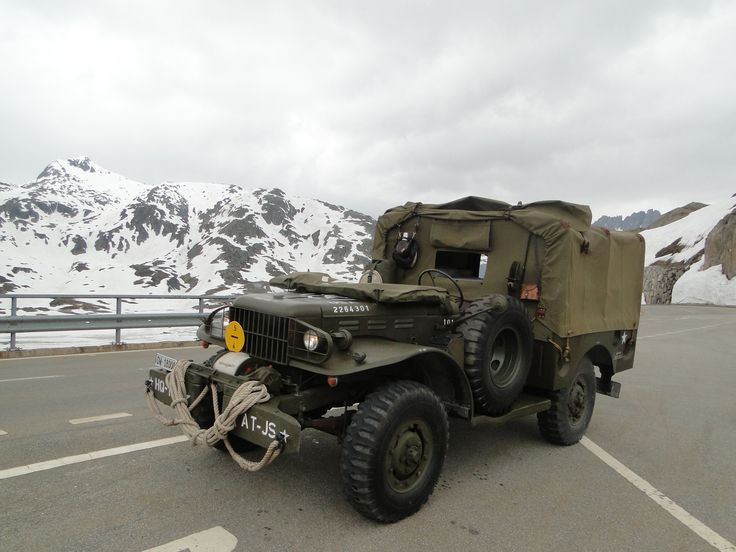 WW II Dodge WC52