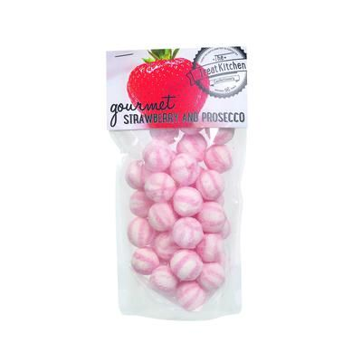 Gourmet Strawberry and Prosecco boiled sweets